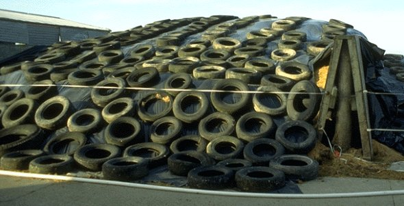 Reuse of shredded tyres: sustainable or