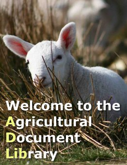 Welcome to the Agricultural Document Library