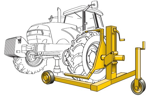 Tractor Dual Tires Handling : Manual handling solutions for farms hse as
