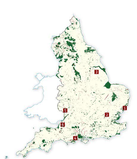 Example Site Map Location: Sites Of Special Scientific Interest (SSSI): Protecting